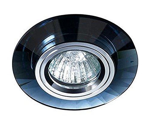 Empotrable de cristal circular Fijo, colección Luxor de Cristalrecord (Válido para Halógeno...