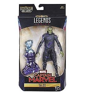 Marvel Capitán Marvel, Figura de Skrull de Talos de Leyendas de 6 Pulgadas