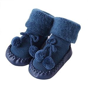 Sunyoyo Baby Kids Cotton Socks Toddler Anti-Slip Socks Warm Stockings Slipper Shoes Boots Floor Socks