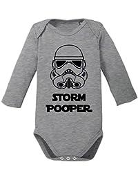 ShirtWorld - Storm Pooper - The Dark Side - Baby Body Longsleeve