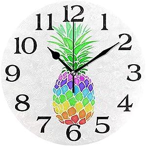 Decoración Colorida del Reloj De