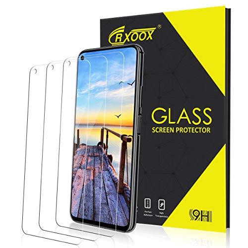 3 pezzi vetro temperato per huawei honor 20/ 20 pro pellicola protettiva durezza 9h resistente ai graffi senza bolle d'aria schermo in vetro temperato per huawei honor 20/ 20 pro facile da installare