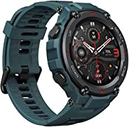 Amazfit T-Rex Pro Smartwatch Fitness Watch with Built-in GPS, Military Standard Certified, 18 Day Battery Life