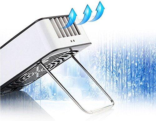 Mini Hand Handliche USB- Cool Luefter Klimaanlage Tragbare Luefterelektrische Lüfter mit ABS-Kunststoff Kuehlung Klimaanlage (orange) - 5