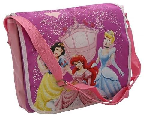 Disney Les Princesses Sac Bandoulière Viloet et Strass 33 cm
