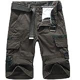 Votre magasin mondial Homme Fermeture éclair Biker Pantalon Multi Poches Tropical...