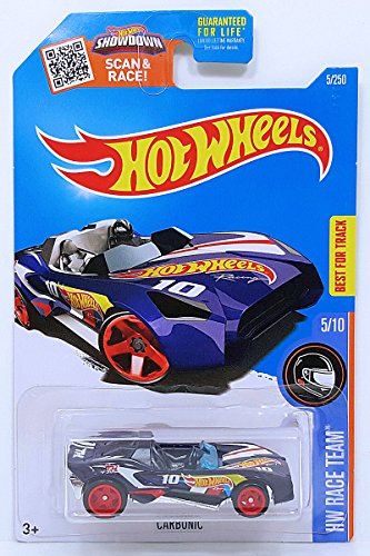 Hot Wheels 2016 HW Race Team Carbonic 5/250 Candy Blue 1:64