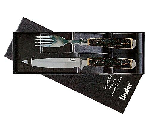 Linder Besteck Messer und Gabel, 11 cm, 361102