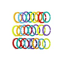baby toy teething toy colourful links