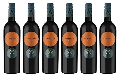 Arcale-Primitivo-Salento-IGT-2016-trocken-Wein-6-x-075-l