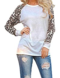 ecdd6233098d Pull Femme Hiver Chic - Col Rond Manches Longues Jointif Couleur Tops -  Sweatshirt Blouse