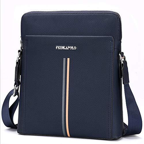 Shixing Laptop-Tasche Handtasche Koffer mit Schultergurt Für Laptop, Superbook, und Extra-Speicher (Schwarz und Blau),Blue (Laptop Extra-speicher)