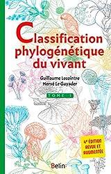 Classification phylogénétique du vivant - Tome 1 4ème édition