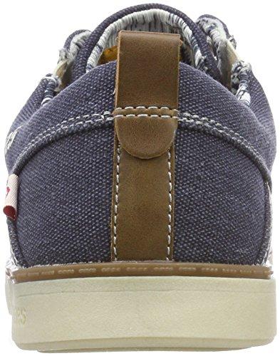 a26a9c585bc681 Dockers by Gerli Herren 38se017797600 Sneaker Blau Blau 600 - engel ...