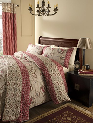 Catherine Lansfield Kashmir Single Duvet Set - Multi-Colour Best Price and Cheapest