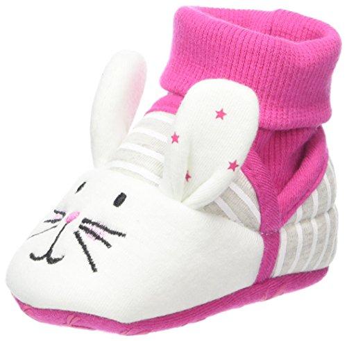 (Joules Baby Mädchen X_BABYNPRSLPG Hausschuhe, Pink (Bunny), 0-6M)