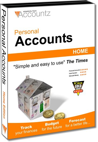 Personal Accounts Home Edition (2005) (PC) Test