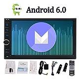 Estándar Doble 2 DIN Android 6.0 En el Tablero de Coches Stereo Radio Unidad de Navegación GPS Autoradio Soporte de la Cabeza 4G WiFi Bluetooth OBD2 MirrorLink SWC FM/Am RDS + teledirigido