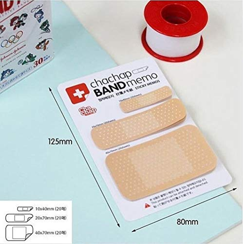 Forniture per ufficio moderne Novità Band Aid Forma Convenienza Adesivi Gesso Sticky Memo Nota Adesivi messaggio bendaggio Nota Ideale per l'uso in ufficio