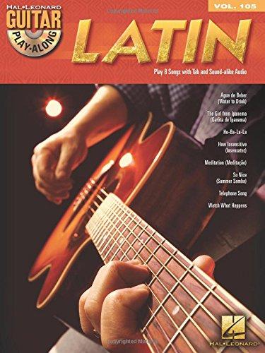 Guitar Play-Along Volume 105: Latin (Book/CD) por Hal Leonard Publishing Corporation