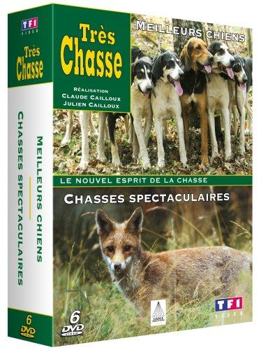 Très chasse : Meilleurs chiens / Chasses spectaculaires - Coffret 6 DVD