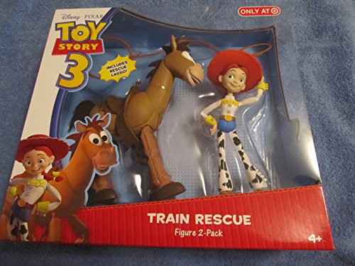 Disney / Pixar Toy Story 3 Exclusive Action Figure 2Pack Train Rescue Jessie Bullseye by Toy Story