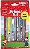 #8: Cello School Kit Pen Set - Pack of 6 (Multicolor)