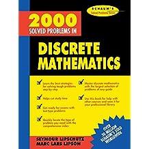 2000 Solved Problems in Discrete Mathematics by Seymour Lipschutz (1991-10-01)