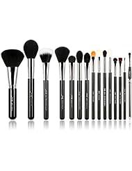 Jessup Pro Pinceaux de maquillage 15pcs Lot de brosse de maquillage Beaury Cosmetics Maquillage Poudre Fond de...
