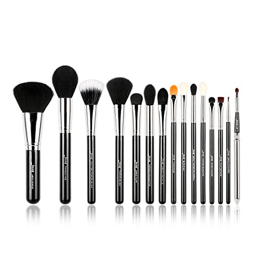 Jessup Pro Make-up-Pinsel 15 pcs Make-up-Pinsel Set Beaury Kosmetik Make up Puder Foundation...