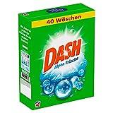 Dash Vollwaschmittel Pulver Alpen Frische, 2,6 kg - 40 Waschladungen, 1er Pack (1 x 2,6 kg)