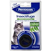 Phytosoin 095007 - Chats - Collier Insectifuge Réfléchissant