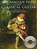 Easy Pieces For Baroque Guitar Tablature And Notation Book/Cd
