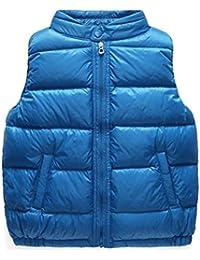 Laixing Buena calidad Kids Boys Girls Fashion Warm Winter Vest Coat Childen Cute Outerwear
