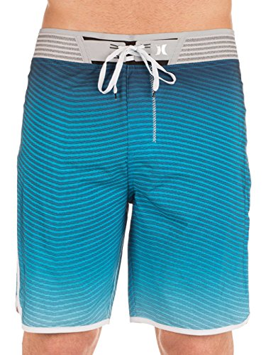 Hurley Phantom Block Party Hyperweave Flow, Man, Color: Obsidian Obsidian
