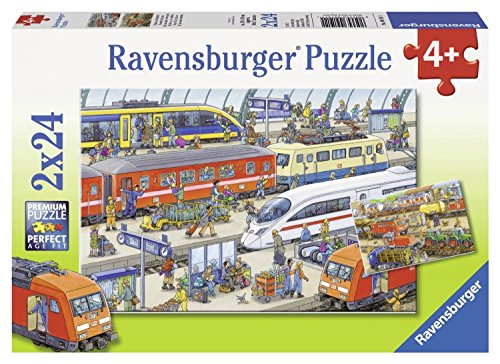 Ravensburger 09191 - Trubel am Bahnhof