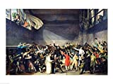The Poster Corp Jacques-Louis David – Die Ballhausschwur am 20. Juni 1789 Kunstdruck (60,96 x 45,72 cm)