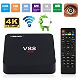 leshp V88 Android 5.1 TV Box S3229 Quad Core 1.5 GHz 1 G + 8 G TV Box Home Entertainment Player immagine