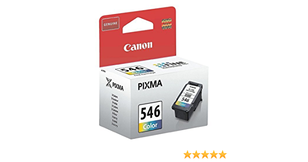 1x Original Canon Tintenpatrone Cl 546 Cl546 Cl 546 8287b001 Color Für Pixma Mx 495 Bürobedarf Schreibwaren