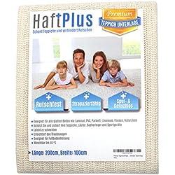 HaftPlus - Sous Tapis - 120 x 180 cm, Tapis Antidérapant, Protection Antiglisse pour Tapis et Paillasson