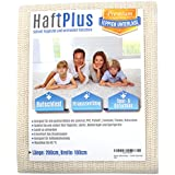 HaftPlus Carpet Underlay, Non-Slip Mat / Adheres Without Sticking / Cuttable / Size: 200 x 100 cm