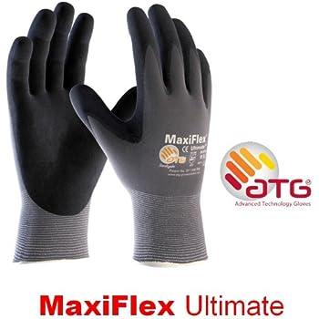 ATG MaxiFlex Endurance 42-848 34-848 Nitrile Foam Durable Work Gloves Micro-Dots
