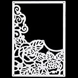 GHBOTTOM Blume Blätter Metall Stanzformen Schablonen Scrapbooking Prägung DIY Craft Decor
