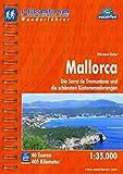 Hikeline Wanderführer Mallorca. Die Serra de Tramuntana und die schönsten Küstenwanderungen. 1 : 35.000, 405 km, wasserfest, GPS Tracks zum Download - Nikolaus Sieber