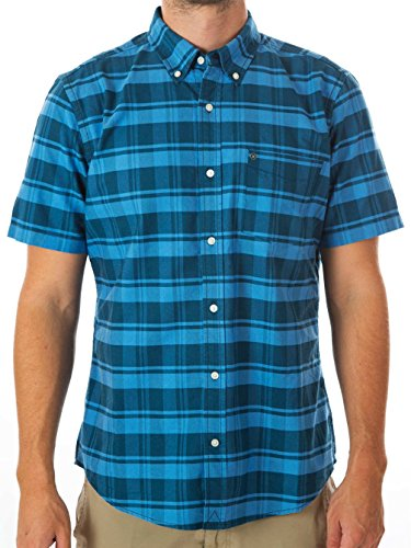 Hurley -  Camicia Casual  - Uomo blue force