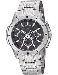 Caravelle Men's Quartz Stainless Steel Watch, Color Silver-Toned (Model: 43A147)