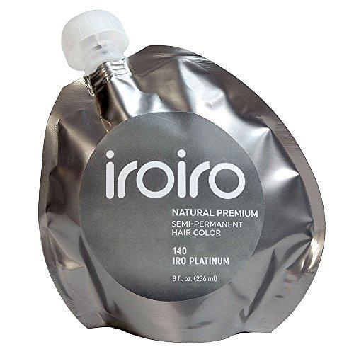 Iroiro Premium Natural Semi-permanenten Haar Farbe 140Iro-Platinum (Up Make Vampir Frauen)