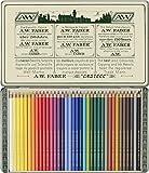 Faber-Castell 211003 - Farbstifte Polychromos, 36er Etui, 111 Jahre, in Originalaufmachung, Limitierte Auflage