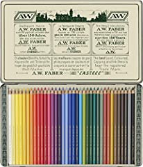 Idea Regalo - Faber Castell Limited Edition 111TH Anniversary - Tin di 36 matite Polychromos Artists '