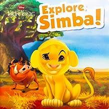Disney Lion King:Explore Simba! (Disney Finger Puppet) by Parragon Books (2014-09-19)
